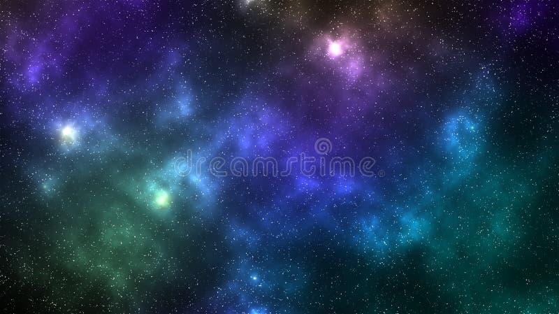 Galaktyki mgławicy astronautyczny tło zdjęcie royalty free