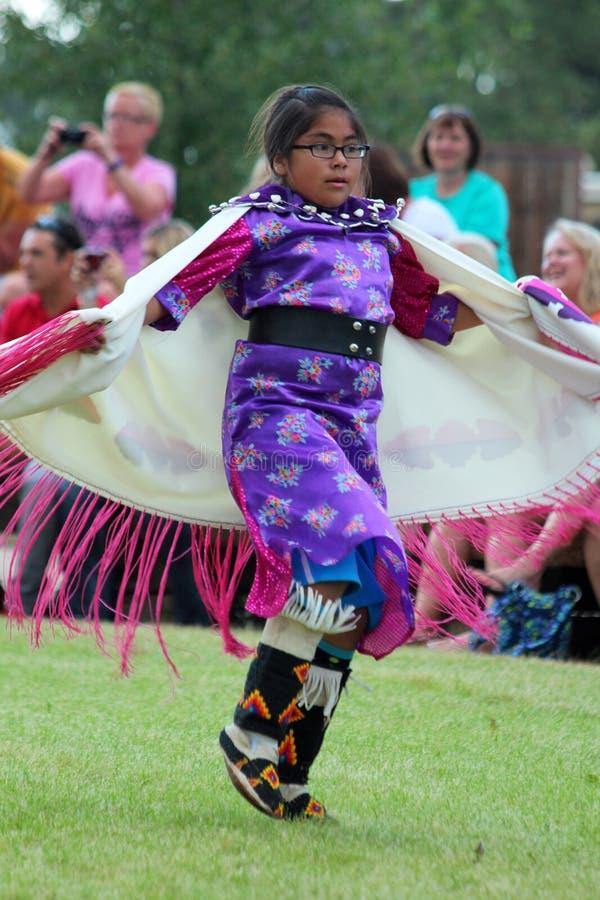 Galanteryjna chusta - Powwow 2013 obrazy royalty free