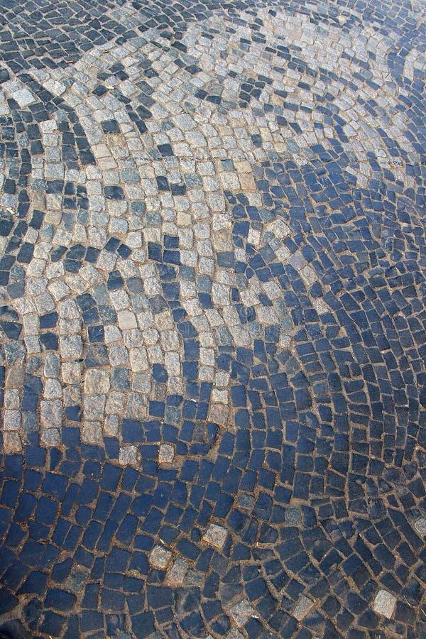 Galanteryjne tekstury od brukowych kamieni obrazy stock