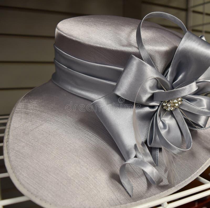 Galanteryjny kapelusz dla Derby dnia fotografia stock