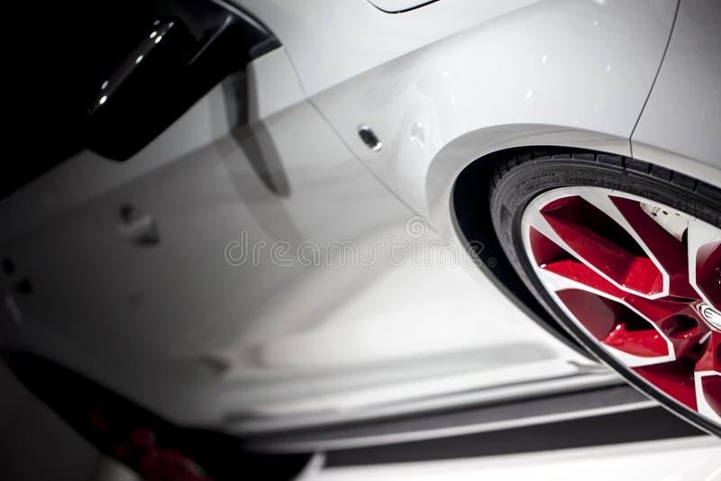 Galanteryjny samochód zdjęcie stock