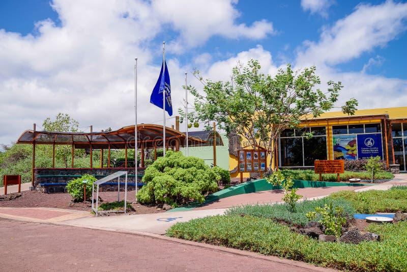 GALAPAGOS, ΙΣΗΜΕΡΙΝΟΣ, ΣΤΙΣ 29 ΝΟΕΜΒΡΊΟΥ 2018: Ο ερευνητικός σταθμός του Charles Δαρβίνος Ο σταθμός ιδρύθηκε το 1959, κάτω από στοκ φωτογραφίες