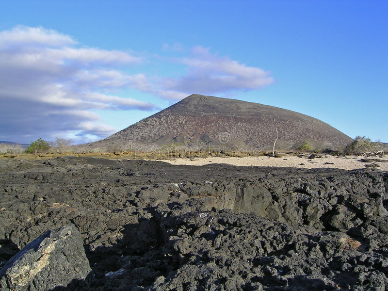 galapagos νησί james στοκ φωτογραφία με δικαίωμα ελεύθερης χρήσης