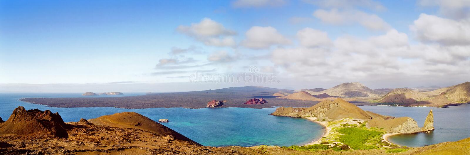 Download Galapagos Islands panorama stock image. Image of animals - 12906755