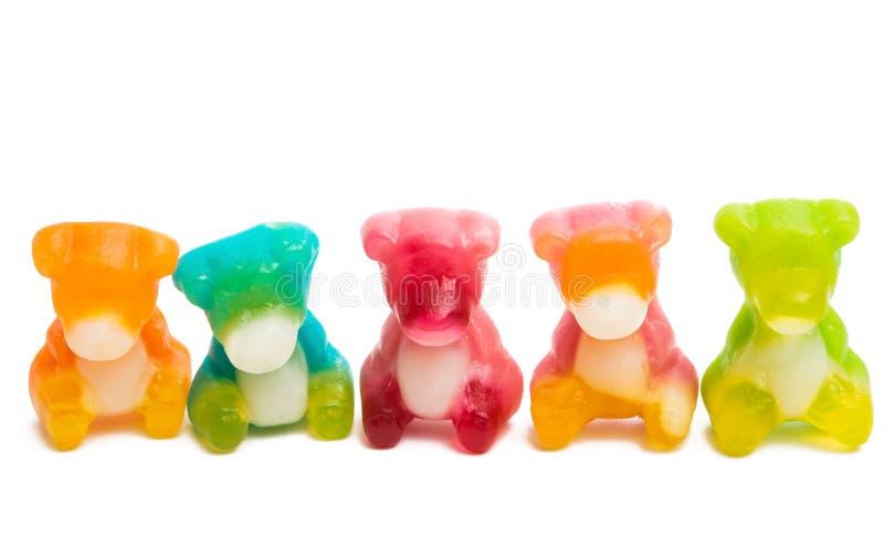galareta niedźwiedzie odizolowywający zdjęcie royalty free