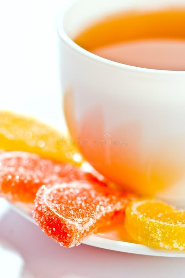 galaretki owoców herbaty. fotografia royalty free