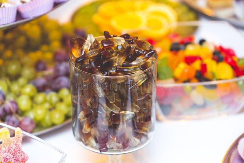 Galaretowi cukierki obrazy stock