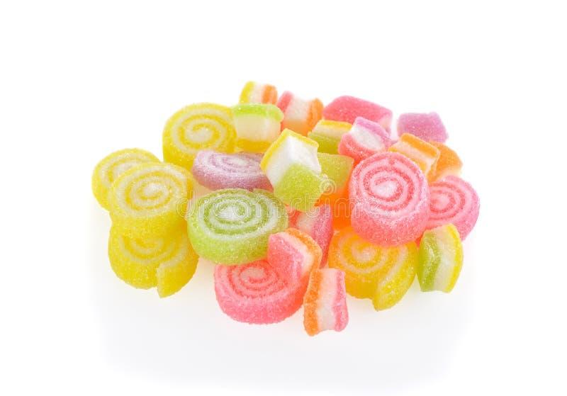 Galaretowy cukierek na białym tle fotografia royalty free