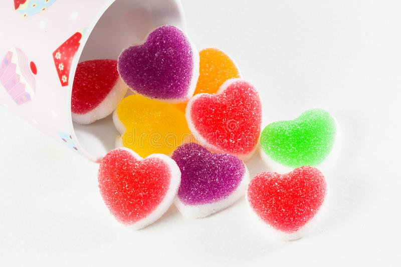 Galaretowy owoc cukierek obrazy stock