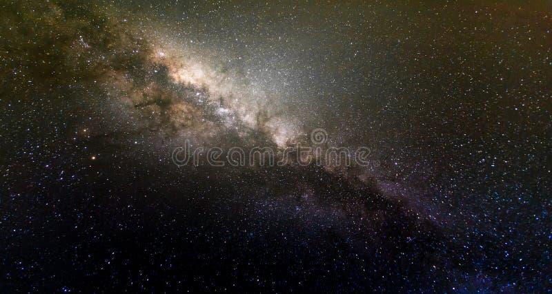 Galassia della Via Lattea fotografie stock