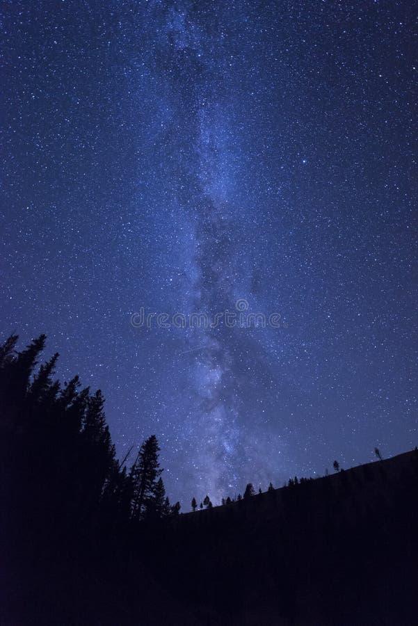 Galassia della Via Lattea immagini stock