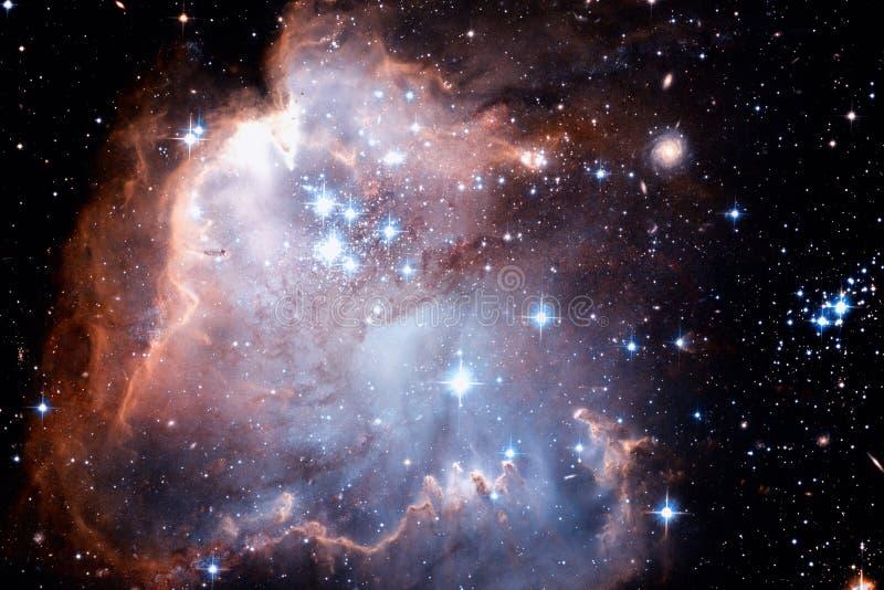 Galassia e nebulose nello spazio cosmico Elementi di questa immagine ammobiliati dalla NASA immagini stock