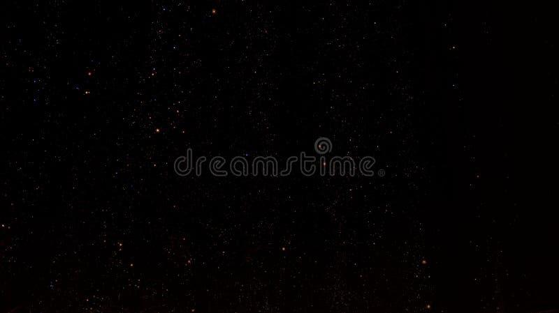Galassia nera immagine stock