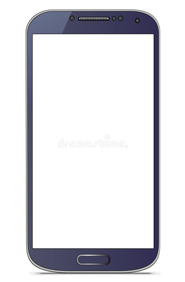 Galassia S4 di Samsung illustrazione vettoriale