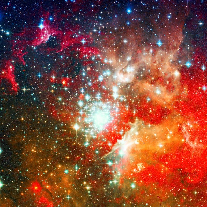 Galassia a spirale incredibilmente bella nello spazio profondo fotografia stock libera da diritti