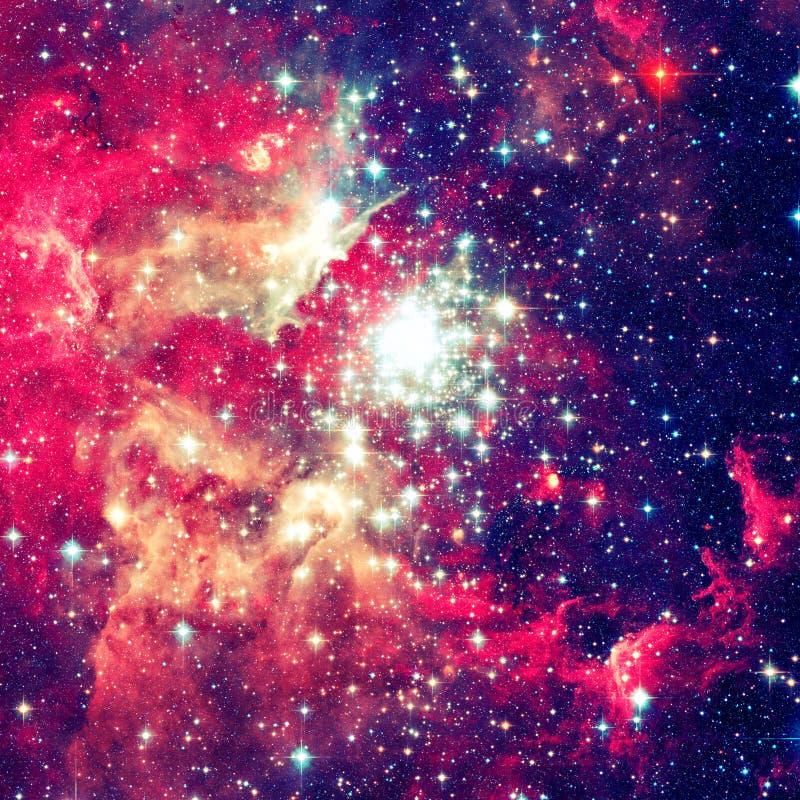 Galassia a spirale incredibilmente bella nello spazio profondo immagine stock libera da diritti