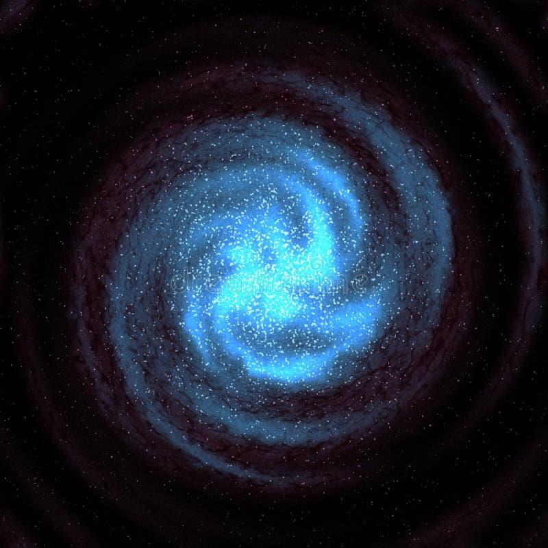 Galassia stellata illustrazione vettoriale