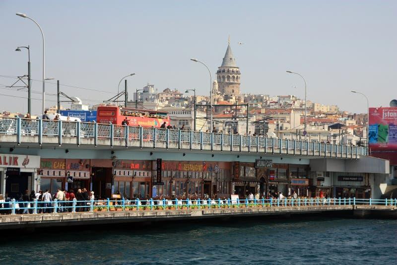 Galata à Istanbul Turquie photo stock