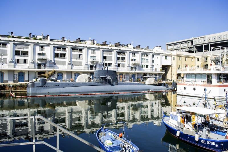 Galata, Museum des Meeres in Genua, Italien stockfotografie