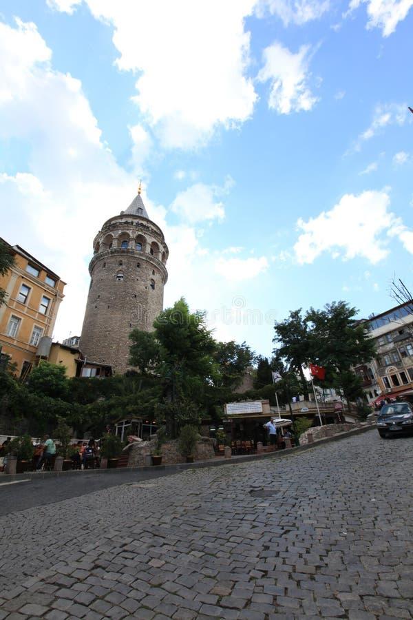 Galata torn arkivfoto