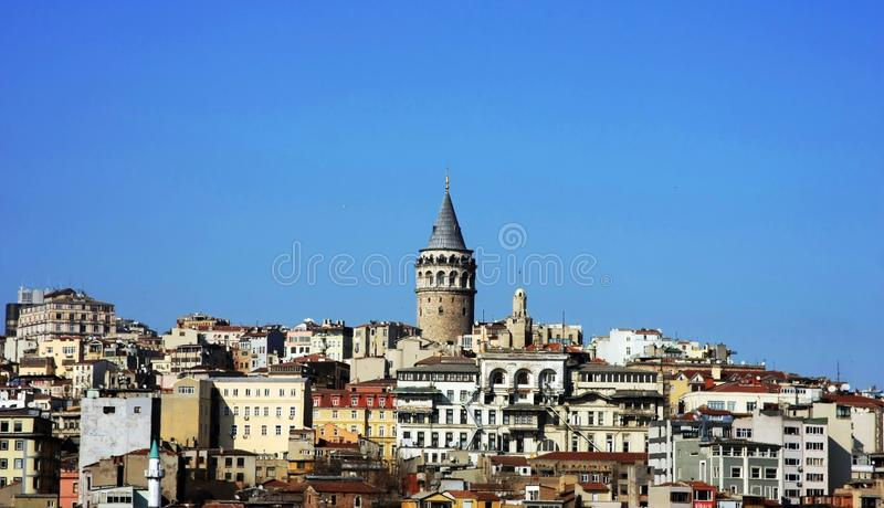 Download Galata Tower stock image. Image of exterior, europe, eastern - 13549761