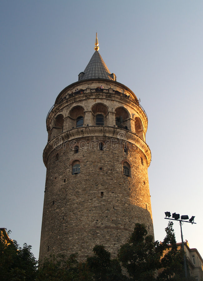 Download Galata tower stock photo. Image of turkey, tower, istanbul - 1674620