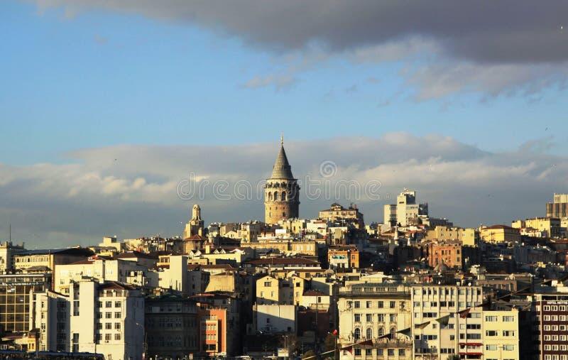Download Galata Tower stock photo. Image of passenger, ottoman - 17173894