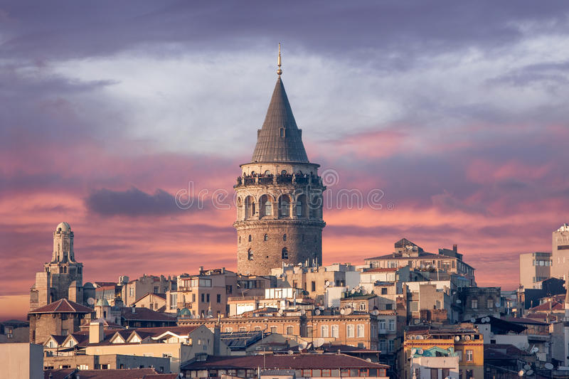 Download Galata Tower stock photo. Image of genoese, turkey, historical - 26133462