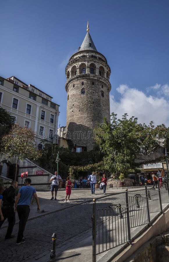 Download Galata Tower Editorial Stock Image - Image: 27504929