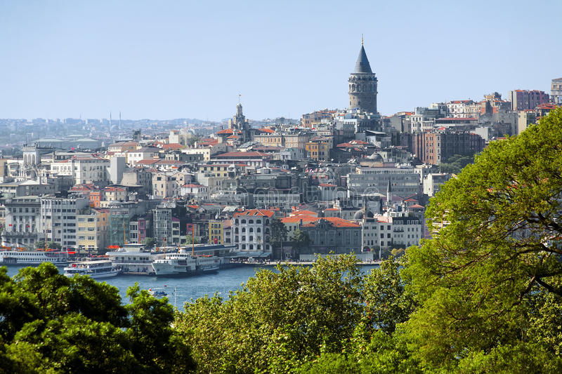 Download Galata Tower And District Beyoglu In Istanbul Stock Photo - Image: 19193096