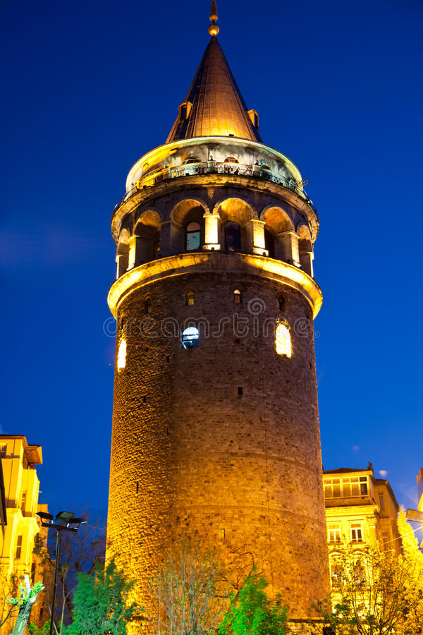 Galata Towers. At the Istanbul Turkey stock photos