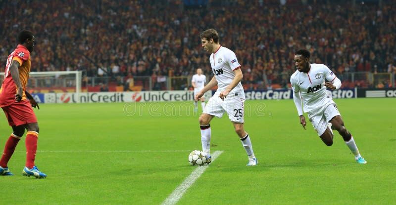 Galatasaray FC - Манчестер Юнайтед FC стоковая фотография rf