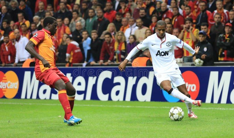 Galatasaray FC - Манчестер Юнайтед FC стоковые фотографии rf