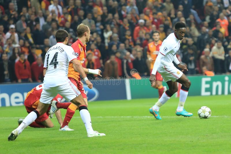Download Galatasaray FC - Manchester United FC Editorial Image - Image: 28287020