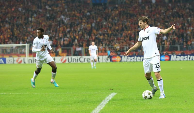 Galatasaray FC - Manchester United FC zdjęcia stock