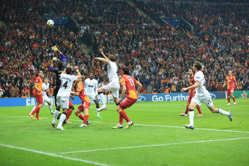 Galatasaray FC - Manchester United FC photo stock