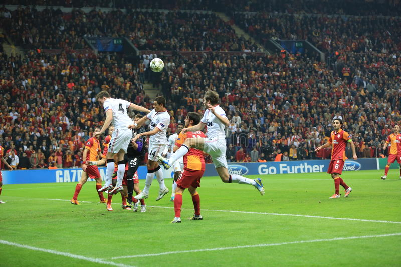 Download Galatasaray FC - Manchester United FC Editorial Stock Photo - Image: 28287043