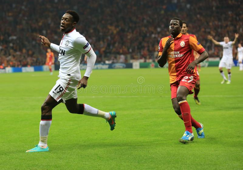 Galatasaray FC - Manchester United FC Editorial Photography