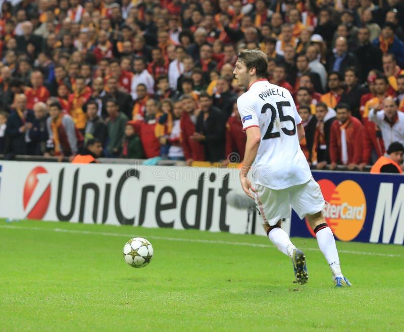 Galatasaray FC - Manchester United FC zdjęcie stock