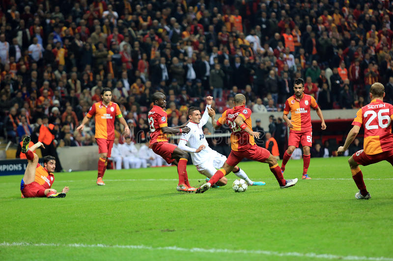 Download Galatasaray FC - Manchester United FC Editorial Stock Photo - Image: 28287958