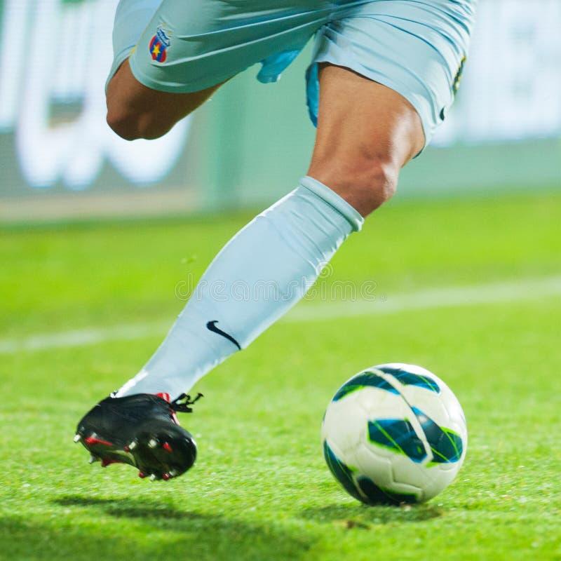 Gracz futbolu obraz royalty free