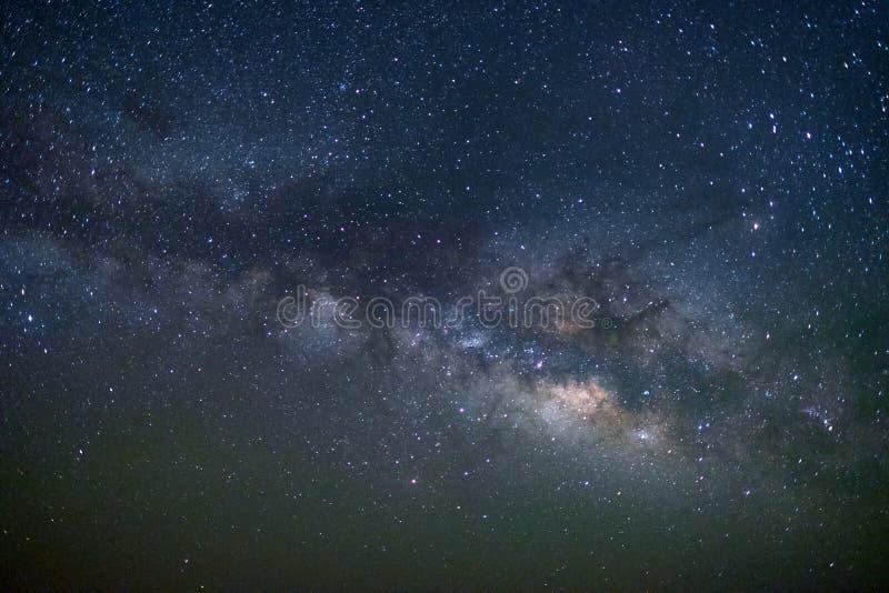 Galax för mjölkaktig väg på tjäraöknen, Jaisalmer, Indien fotografering för bildbyråer