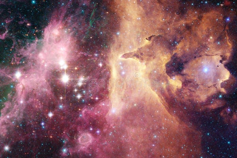 Galax i yttre rymd, skönhet av universum royaltyfria foton