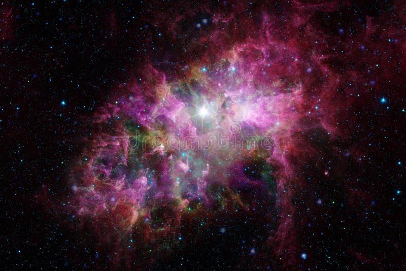 Galax i yttre rymd, skönhet av universum royaltyfria bilder