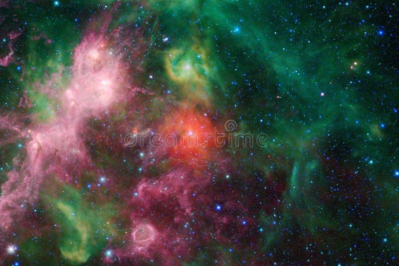Galax i yttre rymd, skönhet av universum arkivbild