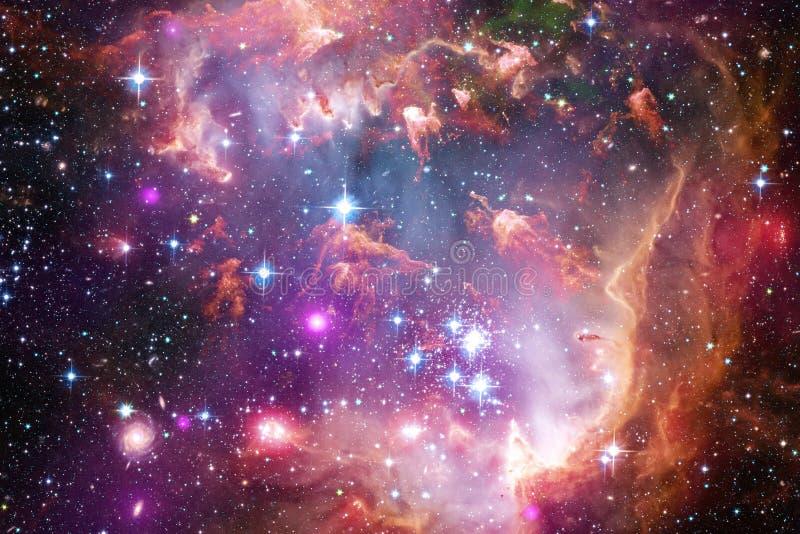 Galax i yttre rymd, sk?nhet av universum royaltyfria foton