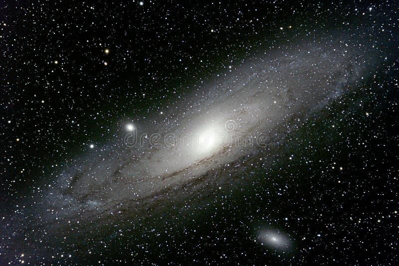 galax m31 royaltyfria foton