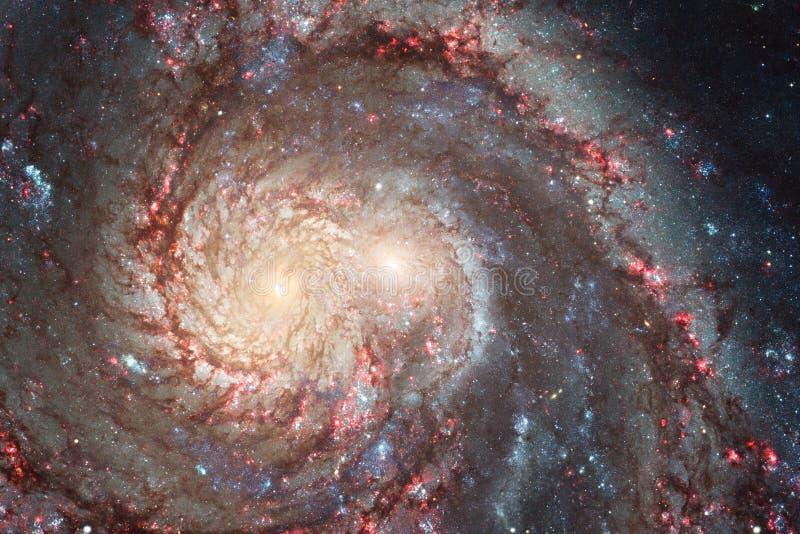 Galax någonstans i yttre rymd Beståndsdelar av denna avbildar möblerat av NASA fotografering för bildbyråer