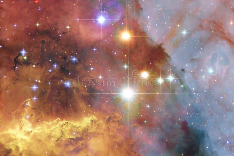 Galax någonstans i yttre rymd Beståndsdelar av denna avbildar möblerat av NASA royaltyfria foton