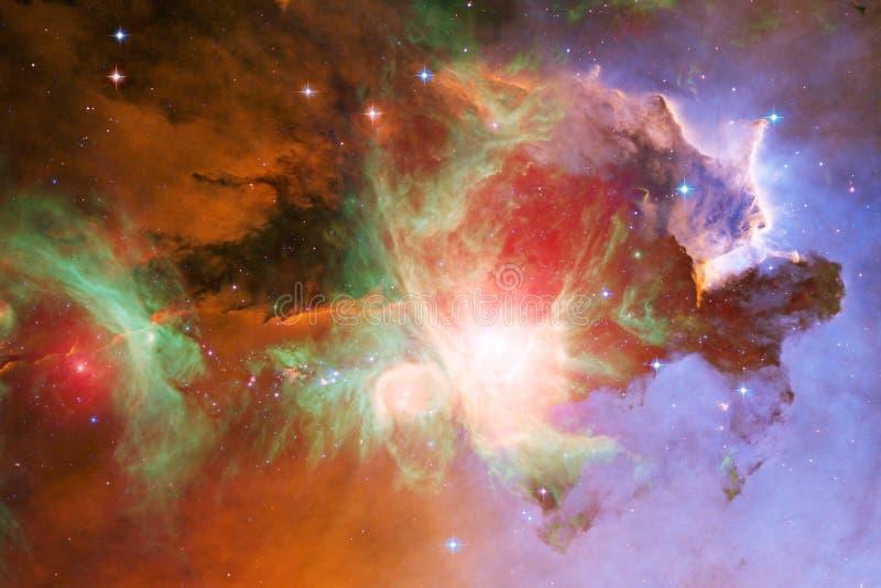 Galax någonstans i yttre rymd Beståndsdelar av denna avbildar möblerat av NASA arkivfoton